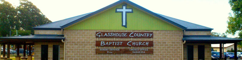 A photo of the Glasshouse Country Baptist Church